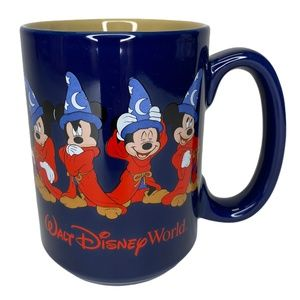 Walt Disney World Mickey Mouse Wizard Coffee Cup